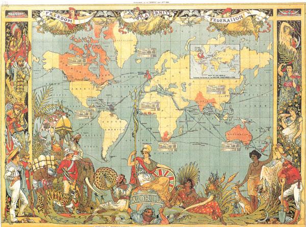 Zemljevid trgovine s kavo